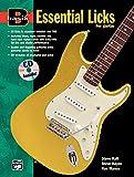 Essential Licks for Guitar (Basix Series)