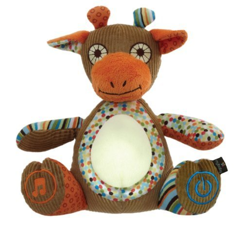 Mybaby Soundspa Glow Giraffe Sounds And Night Light front-73900