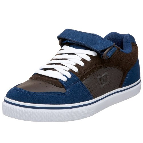 DC Men's Tribe S Sneaker,D.Chocolate/Blue,5 M