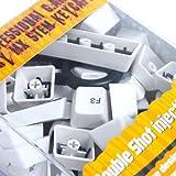 サイズ Cherry MX軸対応 交換用キーキャップフルセット(白) MXKC104-WH