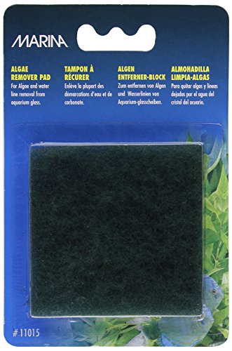 Marina aquarium algae remover pad pets bond for How to remove algae from pond without harming fish