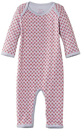 Noa Noa Baby Girls Basic Printed Body 1889-02 Bodysuit, Blue (Eventide), 1-2 Years (Manufacturer Size:9 Months)