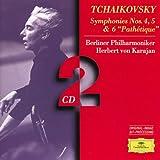 Tchaikovsky: Symphonies no 4, 5, & 6 / Karajan, Berlin PO