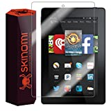 Skinomi® TechSkin - Amazon Fire HD 6 Screen Protector (2014) Premium HD Clear Film with Free Lifetime Replacement Warranty / Ultra High Definition Invisible and Anti-Bubble Crystal Shield - Retail Packaging