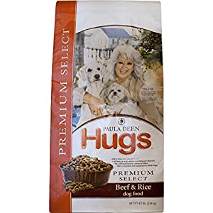 Paula Deen by Hugs Premium Select Dog Food, Beef and Rice, 4.5 lb