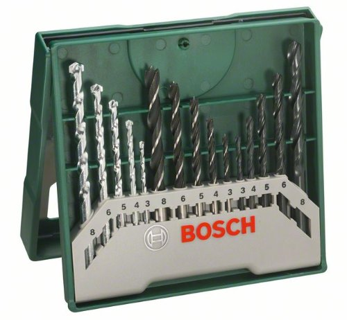 bosch-mini-x-line-paquete-de-15-brocas-para-madera-piedra-y-metal