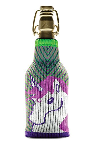 Freaker USA Glitter Unicorn On The Cob One Size Fits All Bottle Insulator - Made In The USA
