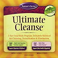 Nature's Secret Ultimate Cleanse 2-Part Program to Support Detoxification & Cleansing Tablets…