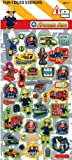 Fireman Sam Birthday Party Large Sticker Sheet - Loot Bag Filler