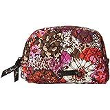 Vera Bradley Luggage Women's Medium Zip Cosmetic Rosewood Luggage Accessory