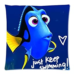 Personalized Custom Disney Cartoon Film Finding Nemo Cute Marlin Dory Pillowcases Protector For kids Standard Size 18x18 Two Side-4