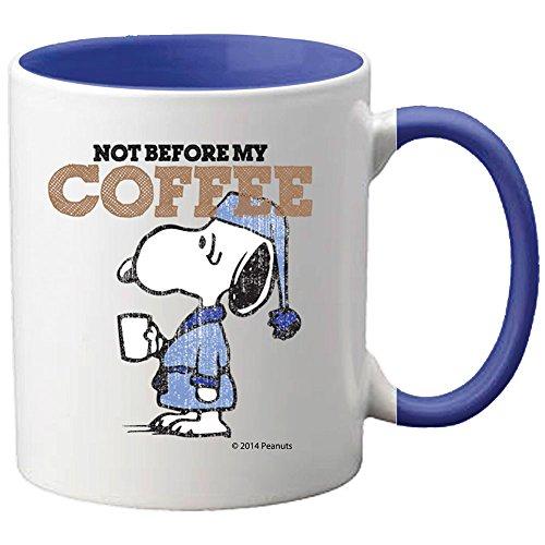 Peanuts Sleepy Snoopy Bad Morning Not Before My Coffee 11 Ounce Ceramic Mug