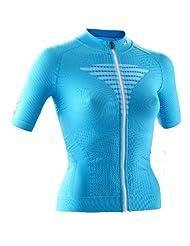 X-Bionic Biking Effektor Jersey short sleeve womens Ladies S/S, Full Zip turquoise 2015