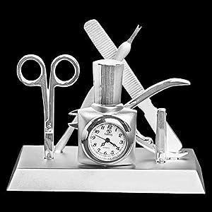 home kitchen home decor clocks desk shelf clocks
