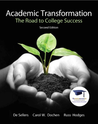 Academic Transformation: The Road to College Success (2nd...
