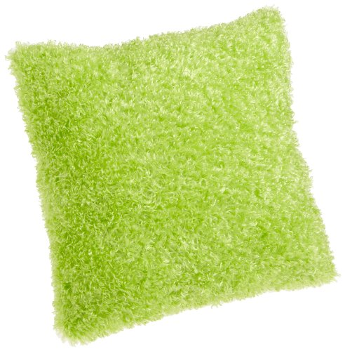 Brentwood Fifi Knife Edge 18-Inch Pillow, Lime Green Throw Pillows
