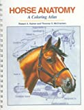 img - for Horse Anatomy: A Coloring Atlas by Robert A. Kainer (1998-12-30) book / textbook / text book