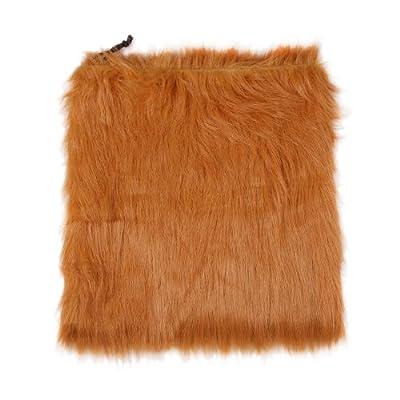 FreeFisher Large Dog Lion Wigs Mane Hair Festival Party Fancy Dress Clothes