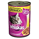 WHISKAS® Can with Chicken Supermeat 12 x 390g