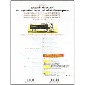 Europäische Klavierschule, Bd.2