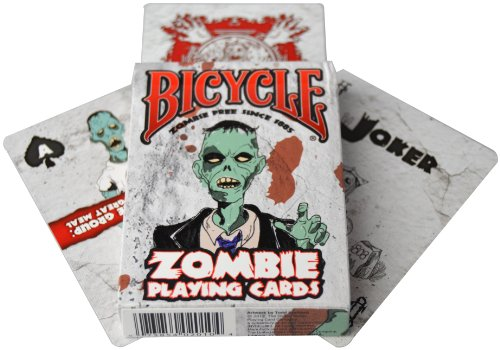 Read About Bicycle Zombies Playing Cards