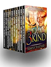 Three Of A Kind: A 10 Book Paranormal Menage Romance Box Set