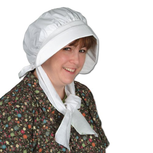 Pilgrim Bonnet Party Accessory (1 count) (1/Pkg)