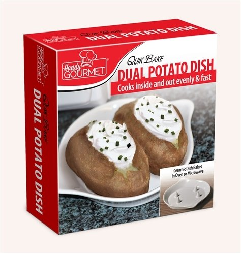 Quik Bake Dual Potato Dish Case Pack 12
