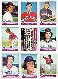 Cleveland Indians 1979 Topps Baseball Team Set (29 Card Set) (David Clyde) (Buddy Bell) (Duane Kuiper) (Andre Thornton) (Sid Monge) (Rick Manning) (Wayne Garland) (Don Hood) (Jim Kern) (Tom Veryzer) (Rick Waits)