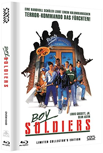 Boy Soldiers - Toy Soldiers (DVD+Blu-Ray) uncut streng limitiertes Mediabook Cover B [Limited Collector's Edition] [Limited Edition]