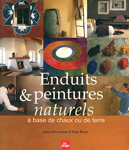 Enduits & peintures naturels à base de chaux ou de terre