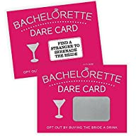 Bachelorette Party Game Scratch Off , Girls Night Out, Dare Card Game