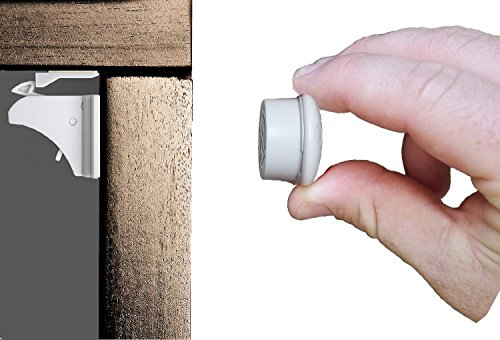 Magnetic-Safety-Locks-for-Cabinets-Drawers-and-Cupboards-Child-and-Baby-Proof-Your-Kitchen-and-Bathroom-in-5-minutes-Simple-Installation-With-No-Tools-or-Drilling-Required