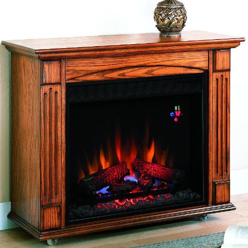 Classic Flame Lancaster 23RM905-O103 Mantel/Insert Combo. photo B001AS51L4.jpg
