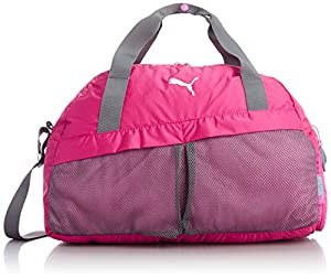 Unique Womens Puma Fitness Gym Shoulder Bag  Hand Bag  Pink Amazoncouk