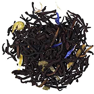 Black Current Loose Leaf Flavored Teas Fair Trade Certified - 1 Pound
