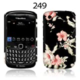 TaylorHe Vintage Floral Patterns Blackberry Curve 8520 Hard Case Colourful with Patterns Full Body Printed Made in Great Britain Top Quality