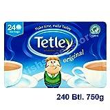 Tetley Schwarzer Tee 240 Btl. 750g - Original englische...