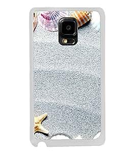 Sea Shells 2D Hard Polycarbonate Designer Back Case Cover for Samsung Galaxy Note 4 :: Samsung Galaxy Note 4 N910G :: Samsung Galaxy Note 4 N910F N910K/N910L/N910S N910C N910FD N910FQ N910H N910G N910U N910W8