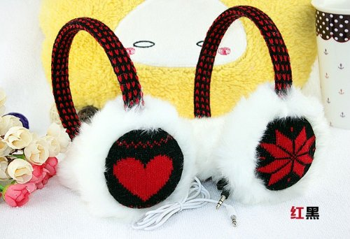 Steve Yiwu Fashion Music Earmuffs/Warm Earmuffs(Color Randomly Send)