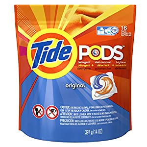 Tide PODS Original Scent HE Turbo Laundry Detergent Pacs 16-load Bag