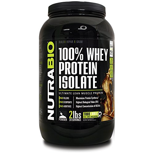NutraBio 100% Whey Protein Isolate - £ 2