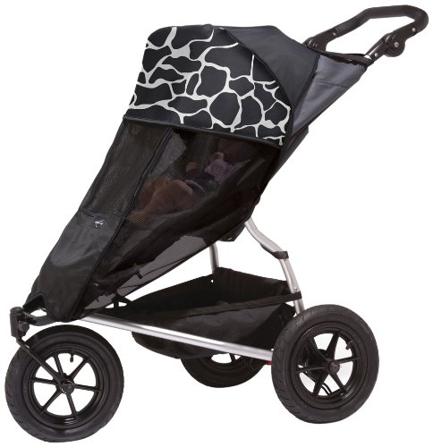 Outlook Shade a Babe Cow Print for Newborn (Black)