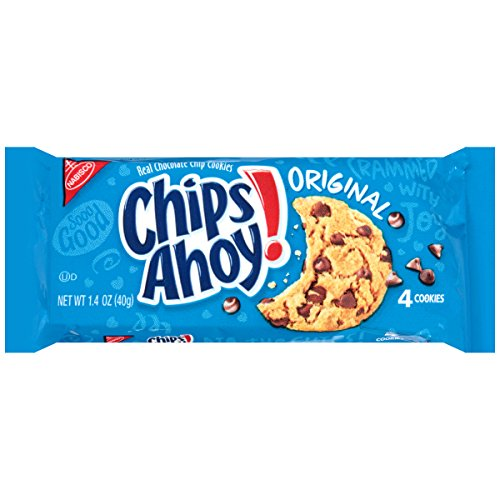 Chips Ahoy! Cookies (Crunchy Chocolate Chip, 1.4-Ounce Bags, 48-Pack) (Snacks Single Serve compare prices)