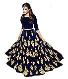 #4: Arawins Navratri Special Offer Chaniya Choli for Women Anarkali Lehenga Choli for Garba Designer Lehenga Dress for Girls | Free Size Semi Stitched