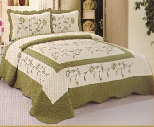 Shabby Chic Coverlet back-991593