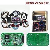 HITSAN Online RED Kess v2 Master Kess v2 V5.017 No Token KTAG V7.020 OBD2 Manager Tuning Kit Kess ktag ECU Programmer BDM Adapter