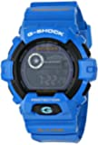 G-Shock GWX8900 Glide with Tide Graph Classic Series Watch - Aqua Blue/Black/Light Blue Accents / One Size