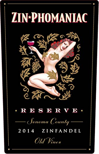Zinphomaniac Reserve Old Vines 2014 Sonoma County Zinfandel 750 ml Wine (Old Red Wine compare prices)