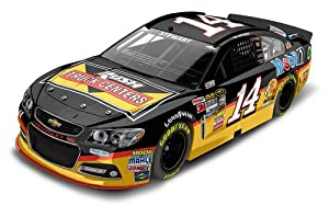 Tony Stewart #14 Rush Truck Centers 2013 Chevy NASCAR Diecast Car, 1:24 Scale HOTO